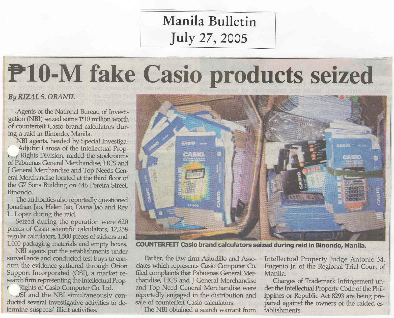 Fake-Casio