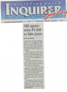 Fake Lee Jeans