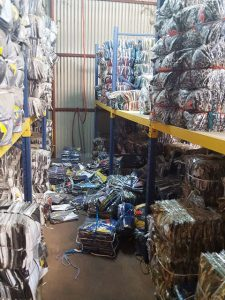 Our investigative efforts on behalf of HD Lee Company resulted in a raid of this factory.