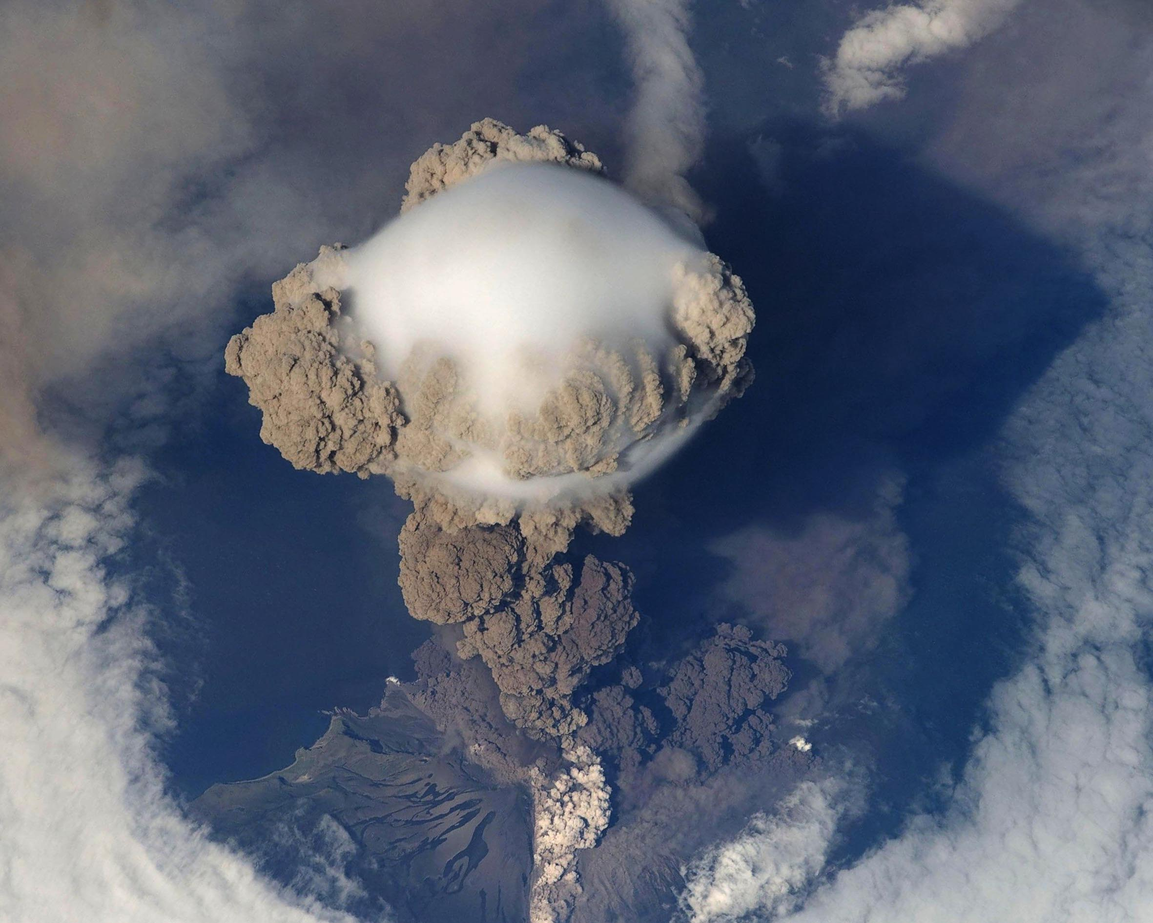 Volcanic explosions are a natural disasters one has to deal with.